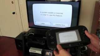 Video Nintendo Wii U unboxing, setup & system config video MP3, 3GP, MP4, WEBM, AVI, FLV Oktober 2018