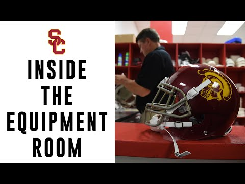 equipment - For more, follow us on Instagram @USC_Athletics.