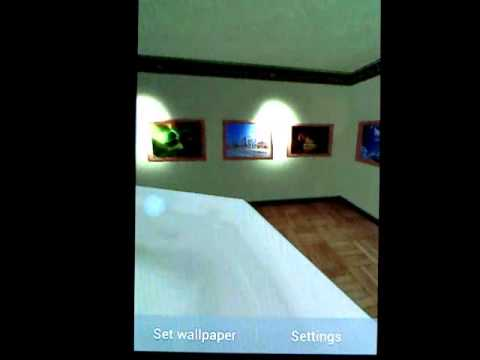 Video of Virtual Photo Gallery 3D LWP