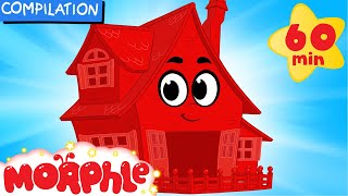 Video My Magic House (Learn About Animal Homes) + 1 hour My Magic Pet Morphle Mega Compilation For Kids!) MP3, 3GP, MP4, WEBM, AVI, FLV Januari 2019