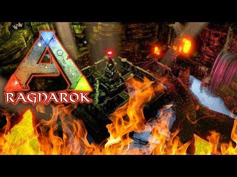 Underground Lava Dungeon - ARK: RAGNAROK SURVIVAL (DLC)(EP.38) (видео)