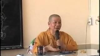 TIÊU TRỪ NGHIỆP CHƯỚNG - HT THÍCH TRÍ QUẢNG thuyết giảng năm 2003 (MS 319/2003)