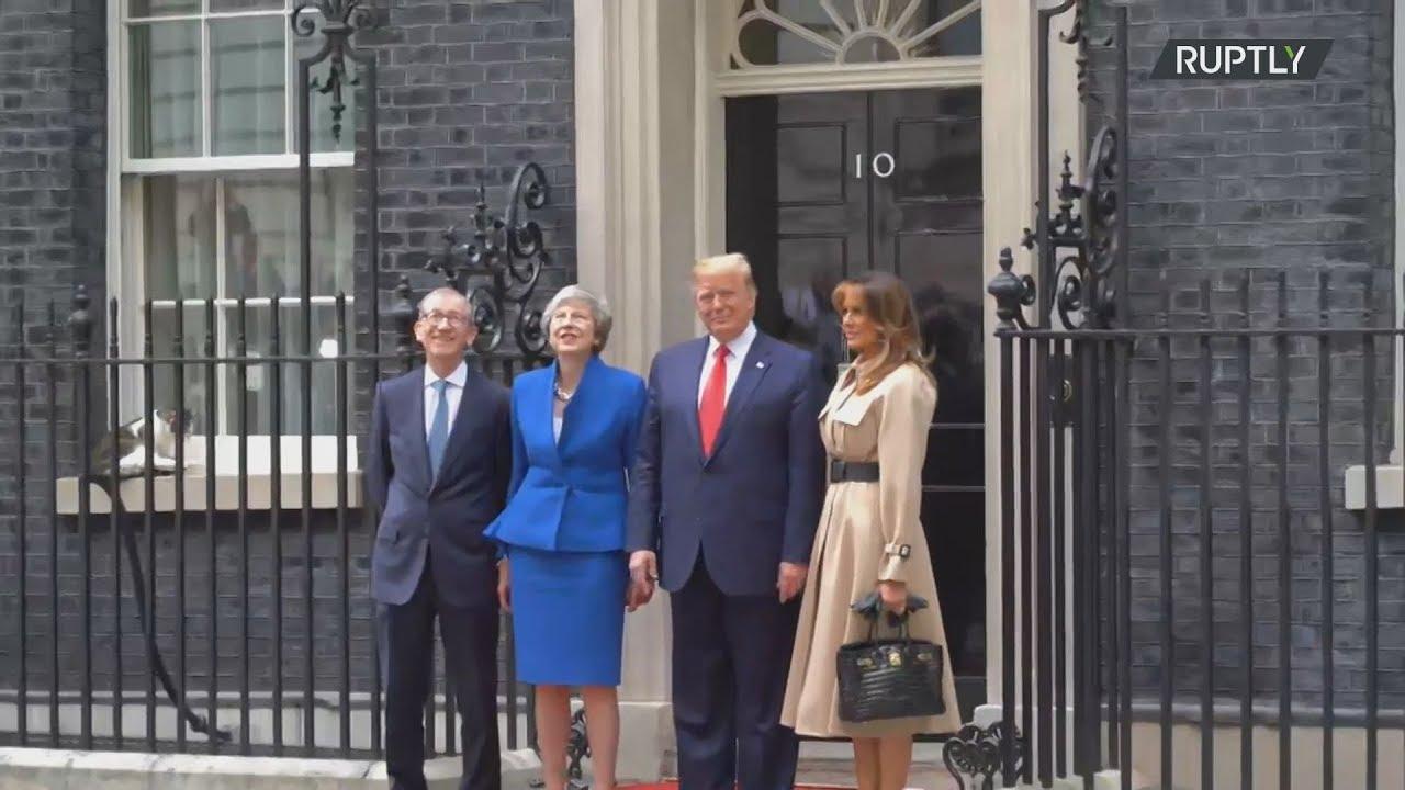 Συνάντηση Τραμπ – Μέι στη Ντάουνιγκ Στριτ