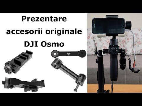 Prezentare accesorii originale pentru DJI Osmo Mobile
