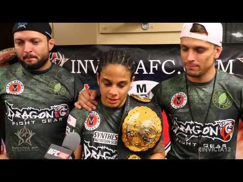 Invicta FC 12: Livia Renata Souza Post-Fight Interview