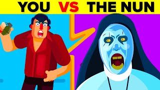 Video YOU vs VALAK (THE NUN) - Could You Defeat And Survive Her? (The Conjuring / The Nun Movie) MP3, 3GP, MP4, WEBM, AVI, FLV Juni 2019