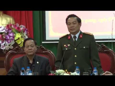 Học viện Cảnh sát nhân dân thăm và làm việc với Công an tỉnh Bắc Giang