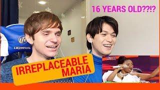Maria IRREPLACEABLE Reaction (Indonesian Idol Spekta Show Top 6)