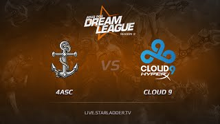 Cloud9 vs 4Anchors, game 1
