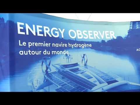 L'Energy Observer fait escale à Monaco