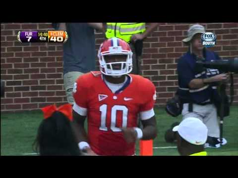 Martavis Bryant post route touchdown vs Furman 2012 video.