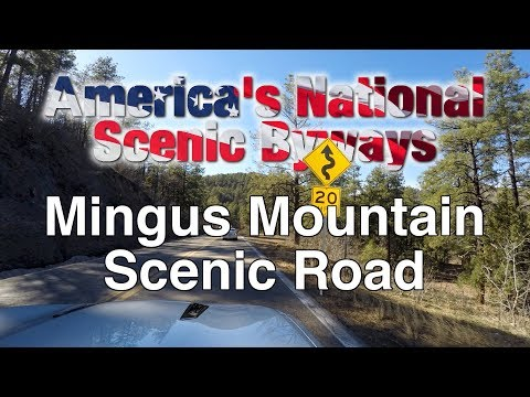 Mingus Mountain Scenic Road (видео)