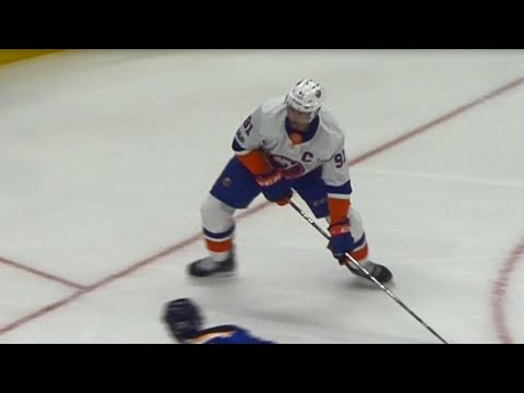 Video: Tavares with a nifty fake to put the Islanders on the board against Blues