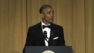 Video Obama's best 2016 jokes at the White House Correspondents' Dinner MP3, 3GP, MP4, WEBM, AVI, FLV Oktober 2018