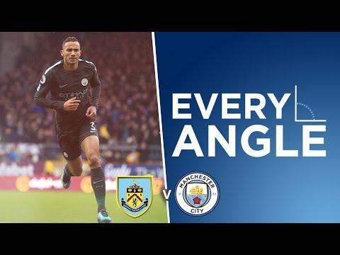 Video: EVERY ANGLE   DANILO   Worldy goal   Burnley 1-1 Man City