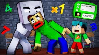 Video Minecraft - BALDI'S BASICS - EVIL SOCK EATS BALDI ALIVE! MP3, 3GP, MP4, WEBM, AVI, FLV Oktober 2018