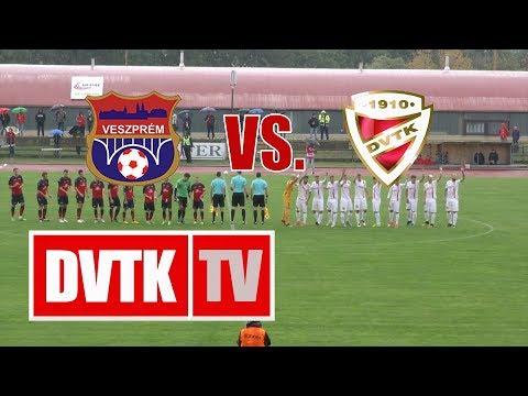 6. forduló: Veszprém - DVTK 0-3 (0-2)
