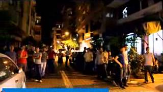 Telsiz Mahallesi 81 Sokak'da Ak Parti Alehinde Gösteri