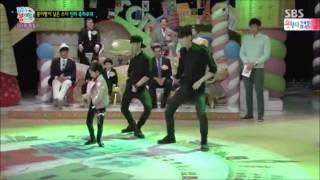 [FULL] 150322 Taemin and little girl dancing Danger @StarJunior