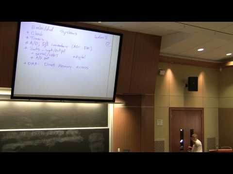 Embedded Systems Course (V2) - Lecture 7: Organization & Architecture of the Renesas RX62N - Part 1
