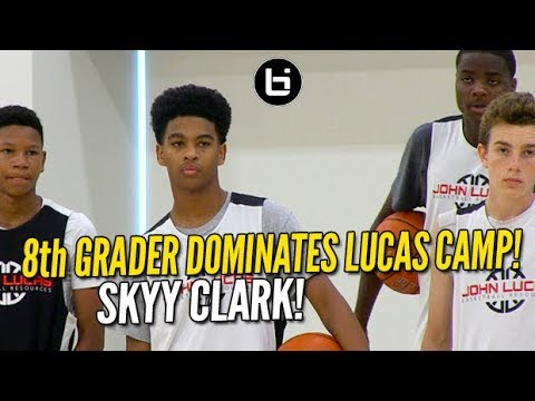 Skyy Clark Dominates Lucas Camp! Full Middle School Camp Highlights!