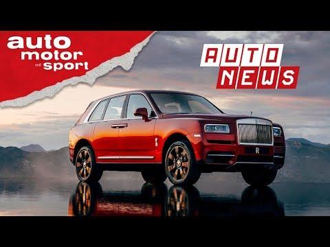 Rolls-Royce Cullinan: Schwere Kost - NEWS | auto moto ...