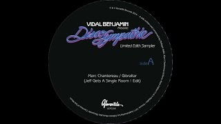 More info & buy the EP : http://versatilerecords.com/release/vidal-benjamin-presente-disco-sympathie-7-limited-edith-sampler/