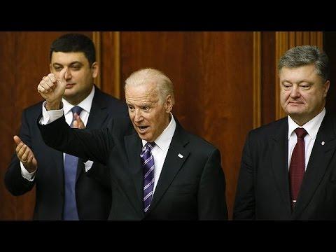 Τζο Μπάιντεν: «Οι ΗΠΑ δεν θα αναγνωρίσουν ποτέ την προσάρτηση της Κριμαίας»