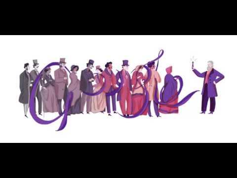 Sir William Henry Perkin's 180th Birthday Google Doodle