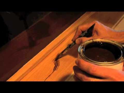 How to faux paint oak wood grain - Mural Joe