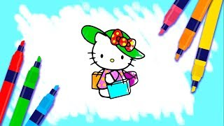 Video Wrong Heads Colors for Children Coloring Hello Kitty Princess Elsa Finger Family Nursery Song MP3, 3GP, MP4, WEBM, AVI, FLV Juni 2017