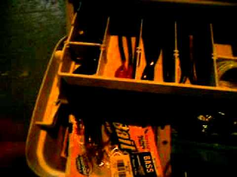 my fishing tackle and two of my favorite rods