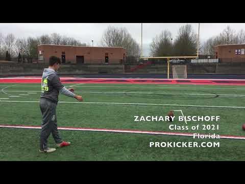 Zachary Bischoff, Kicker Punter, Class of  2021, Florida