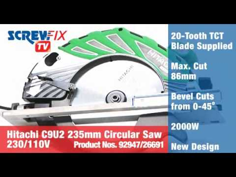 Hitachi C9U2 235mm Circular Saw 110V