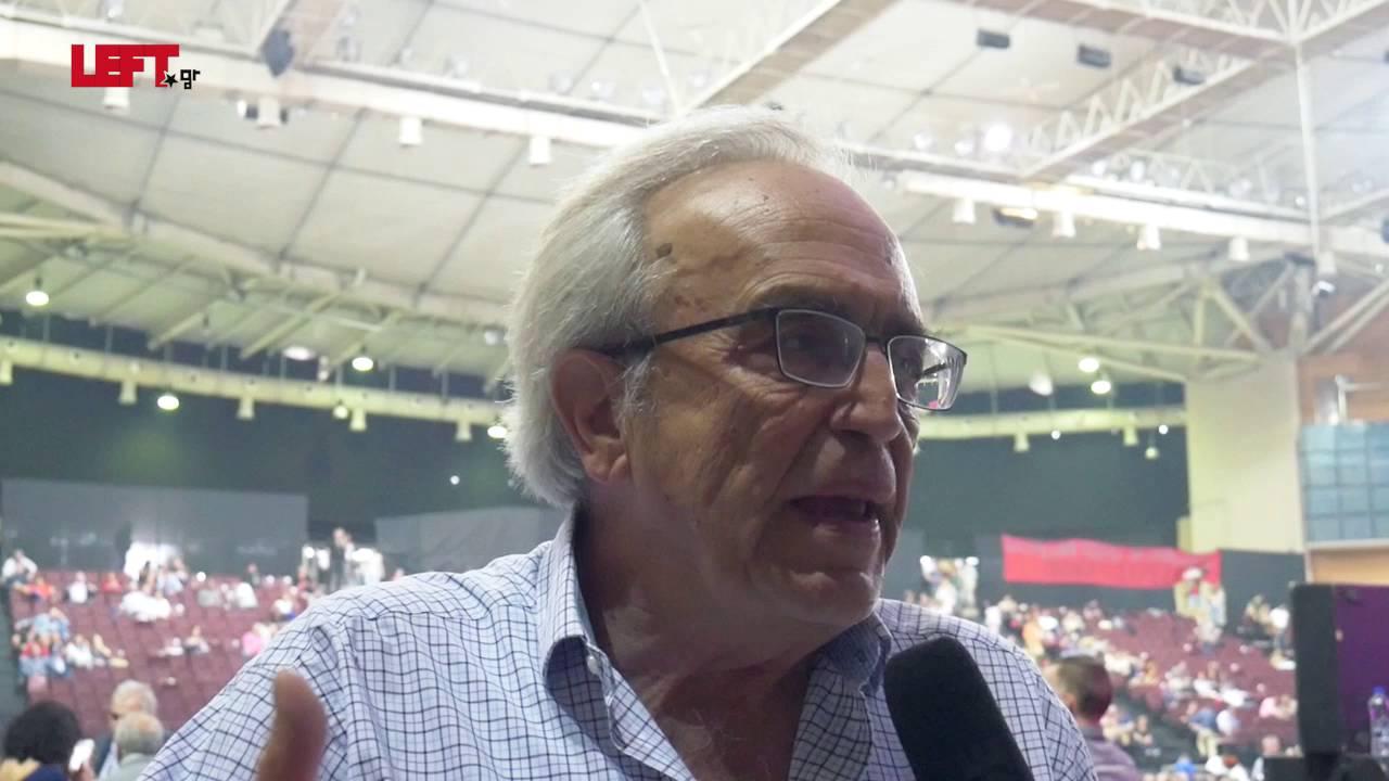 2ο συνέδριο του ΣΥΡΙΖΑ –Αριστείδης Μπαλτάς
