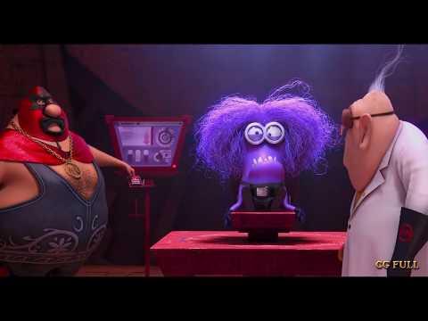 Motivation of purple minion Despicable me 2 (2013) Hd
