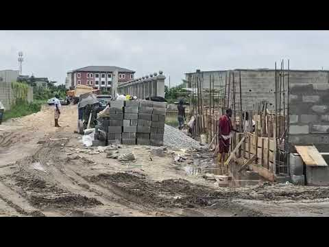 Land For Sale ₦70, 000 Per Sqm At The Ambiance Beside LBS, Ajah Lagos   On going Construction