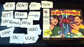 IED React To Vlog Let's Play 'Kerplunk' Unboxing 100th Video Craptacular thumb image