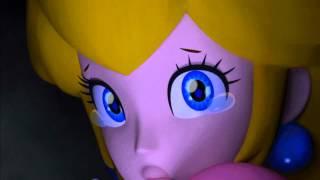 Princess Peach Can't Escape the Luigi Death Stare