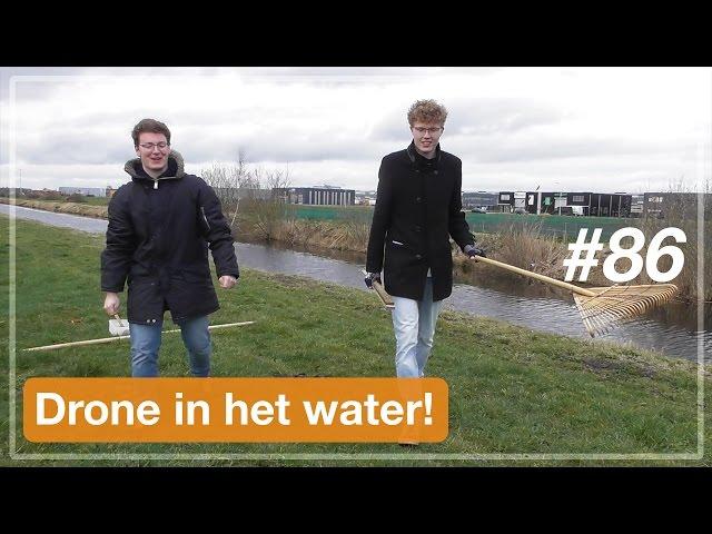 Drone in het water! | VLOG (#86)