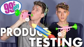 Video 99 CENT STORE PRODUCT TESTING Sibling Tag | Devan & Collins Key MP3, 3GP, MP4, WEBM, AVI, FLV Agustus 2018