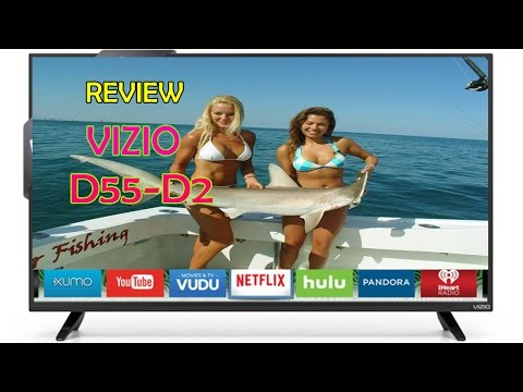 VIZIO D55 - D2 D Series 55 inch Class Full Array LED Smart TV Review