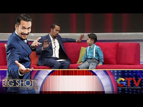 Jenius! Kiyoshi Jago Baca Peta Buta! | Little Big Shots Indonesia Eps. 9 (2/4) GTV 2017