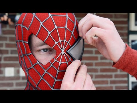 Making the SPIDER-MAN Mask! - Movie Costume Replica