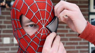 Video Making the SPIDER-MAN Mask! - Movie Costume Replica MP3, 3GP, MP4, WEBM, AVI, FLV Juni 2018