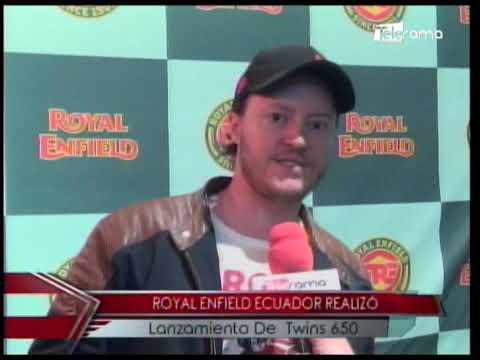 Royal Enfield Ecuador realizó lanzamiento de Twins 650