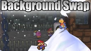"""Some glitches benefit speedrunners, others provide endless fun, and at times, glitches can provide a new gameplay experience. Out of the entire Paper Mario glitch catalog, this is my personal favorite.Back in 2014, Imglower accidentally discovered it was possible to open a menu the same frame as encountering an enemy while riding Lakilester, which prompted testing the Lakilester Menu Glitch on loading zones, battles, and walk-in cutscenes. I initially found Partner Menu Storage and Item Menu Storage by combining the Lakilester Menu Glitch with a star spirit card. Additionally, I discovered a game crash when pausing into the card with Lakilester. In 2015, Imglower suggested Rain and I attempt these tricks without Lakilester's help. My own testing resulted in the """"partnerless"""" Card Pause Crash, and by emulating the game, Rain managed to produce an entirely different result: no crash occurred,  and all of the game's backgrounds had temporarily turned black. We agreed it was a graphical glitch, since many emulators fail to render Paper Mario's graphics properly. Well, that hypothesis was only half right, but we had moved on for the time being.Come January 2016, and I was working on the """"Top 10 Most Difficult Glitches in Paper Mario 64."""" While constructing the list, I decided to take a second look at the black background issue, and requested Rain load up his savestate. After realizing this may not be an emulator glitch, I suggested he pause and unpause, which to our surprise, reloaded the background. The problem? Replicating the effect. Rain attempted this glitch while on Skype with me as we exchanged ideas for around 8 hours, until Bonecrusher joined, quickly pulled off the trick with minimal effort, and proved the only emulation error was the black background. I excitedly created a video, and Glower and I began testing new ideas.I eventually came across the dark room graphical glitch, Toad Town Background Swap, and confirmed the glitch on the Chapter 1, 2, 3, 6, and 7 """