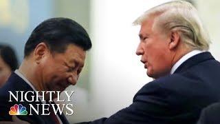 Donald Trump Talks China, North Korea In Impromptu Interview | NBC Nightly News