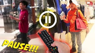 Video PAUSE CHALLENGE VS FATEH HALILINTAR! Sampe Ditinggalin Di Mall! #PART1 MP3, 3GP, MP4, WEBM, AVI, FLV Mei 2019