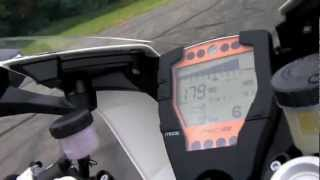 9. KTM RC8 R Top Speed Run